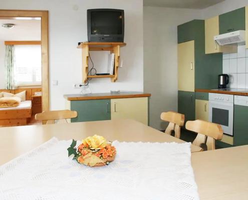 Ferienwohnung Kappl - Küche