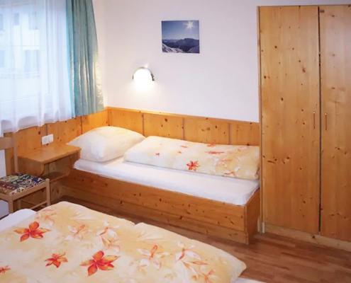 Ferienwohnung Kappl - Schlafzimmer